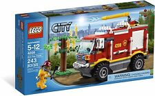 LEGO City 4x4 Fire Truck (#4208)(Retired 2012)(Very Rare)(NEW)