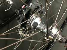 Ambrosio excellight Wheel set Campagnolo Record 10 Speed concentradores no crash or cracks