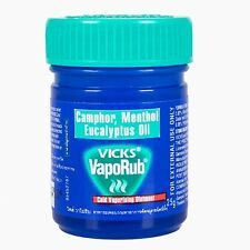 Vicks Vaporub Ointment Balm Relief from Blocked Nose, Cough, Cold and Flu 25g