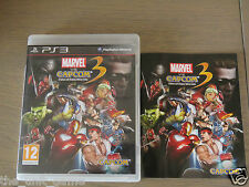 PLAYSTATION 3 PS3   MARVEL VS CAPCOM 3 FATE OF TWO WORLDS  COMPLET EN FRANCAIS