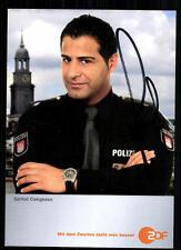 Serhat Cokgezen Notruf Hafenkante Autogrammkarte Original Signiert+34399