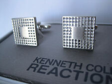 Kenneth Cole Reaction Cufflinks, Mesh / Grid Pattern