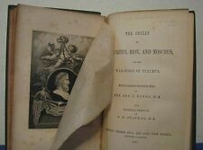 THE IDYLLS OF THEOCRITUS, BION, & MOSCHUS & THE WAR SONGS OF TYRTAEUS BANKS 1878