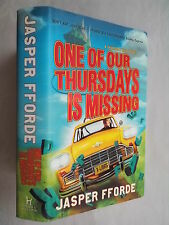 JASPER FFORDE.ONE OF OUR THURSDAYS IS MISSING.1ST/1 H/B D/J 2011,UNREAD COPY