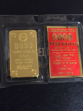 GOLD MOT LUONG ONE TAEL Gold BARs, .9999 Gold 1.2057AGW, Rare & Hard to Find