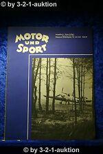 Motor und Sport 29/40 Pössneck 21.7.1940 Heft 29 DKW NZ 500