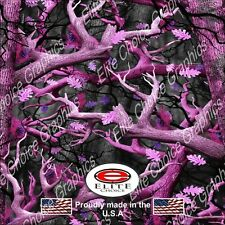 """Obliteration Pink CAMO DECAL 3M WRAP VINYL 52""""x15"""" TRUCK PRINT REAL CAMOUFLAGE"""