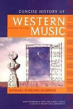 Concise History of Western Music, Second Edition