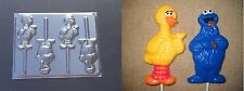 Big Bird Cookie Monster Sesame Street Lollipop Chocolate Candy Soap Crayon  Mold