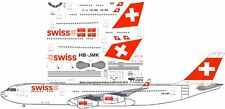 Swiss International Airbus A-340-300 decals for Revell 1/144 kit