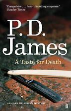 A Taste for Death, James, P. D. Paperback Book