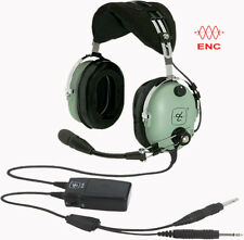 David Clark Model H10-13X ENC Aviation Headset - GA/Dual Plug ANR - 40411G-06