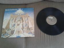"Iron Maiden Powerslave BRAZIL ONLY 1984 LP 12"" BRUCE DICKINSON DIFFERENT LABEL.."