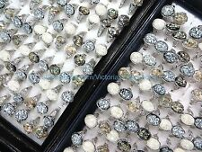 US SELLER-12pcs cheap jewelry for sale vintage seashell rings wholesale jewelry