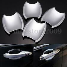 4pcs ABS Door Handle Cup Bowl Cover Trim Chrome Fit For Honda CRV CR-V 07 - 11