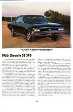 1966 Chevelle SS 396 Article - Must See !!