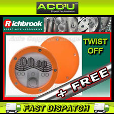 Richbrook Orange Twist Off Back Car Tax Disc Holder+FRE