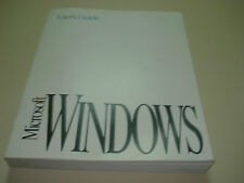Microsoft Windows 3.1 original users guide