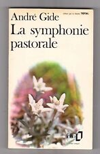 Gide - La Symphonie Pastorale - Folio 1972   publicitaire TOTAL .