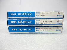(NEW) NAIS NC Relay NC2D-JP-DC24V AW8812 Box of 20 50913V