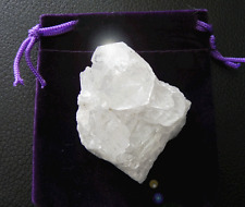 Azeztulite Crystal Cluster With Pouch & Certificate Mine Direct Since 1998