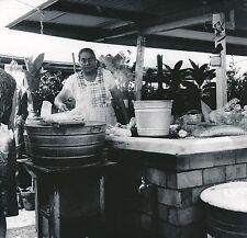 XOCHIMILCO c. 1960 - Le Marché Cuisson des Épis de Maïs  Mexique - Div 6374