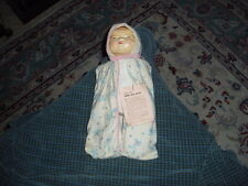 Vintage 1970 GOOD OLE DAYS BABY DOLL W/ Swaddle Blanket & Tag Made In Japan