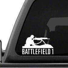 BATTLEFIELD 1 - vinyl decal for Car, Truck, Laptop, Xbox One, PS4, PC - FREE S&H