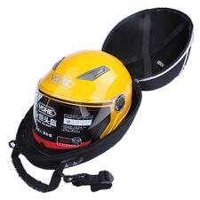 Black Motorcycle Bike Helmet  Bag Car Karting Crash Carry Storage Bag Waterproof