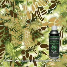 HYDROGRAPHIC FILM WATER TRANSFER HYDRO DIP 6OZ. ACTIVATOR WITH GOLDEN HEX KIT