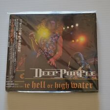 DEEP PURPLE -Come hell or high water - 1994 FIRST PRESS JAPAN CD + BOOKLET