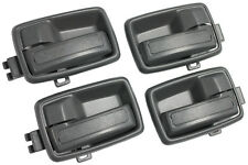 NEW 4-piece Gray Interior Door Handle SET / FOR LISTED ISUZU PICKUP TRUCK & SUVS