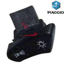 293571 COMMUTATORE PULSANTE LUCI ORIGINALE PIAGGIO LIBERTY 50 1997-2005 C1500