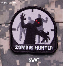 Mil-Spec Monkey ZOMBIE HUNTER morale patch hook back SWAT