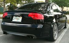 Audi A4 B7 SE Saloon - Rear boot spoiler (3 parts)