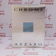 AZZARO CHROME EAU DE TOILETTE 200ml VAPORISATEUR SPRAY NEUF BLISTER AUTHENTIQUE