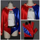 Batman Harley Quinn Halloween Party Dress Cosplay Costume Suicide Squad Outfit