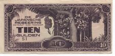 Old Japanese Tien Gulden Currency Note