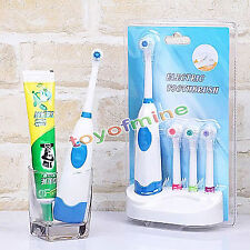 Professional Oral Care Teeth Brush Electric Toothbrush+3 Brush Head For Children