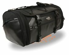 Large Nylon & PVC Duffle Style Rack Bag w/ Carry Strap Fits most All Harley's