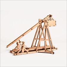 Trebuchet catapult Wooden model kit