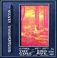 Live at the End of Cole Ave: The Second Night by The Velvet Underground (CD,...