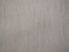 Dress Net Tutu Fabric Silver Grey SOLD BY A ROLL OF 40 METRES FREE P+P