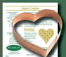 HEART COPPER COOKIE CUTTER By Ann Clark MADE IN THE USA!