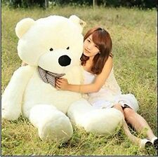 47 in. White Giant Huge Cuddly Stuffed Animals Plush Teddy Bear Toy Doll
