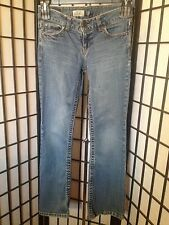 Aeropostale Size 1/2 Junior Short Hailey Skinny Flare Blue Jeans