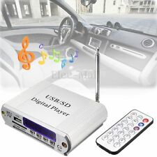Mini MP3 USB SD Digital Player FM Radio Remote Control LED Display Headphone Out
