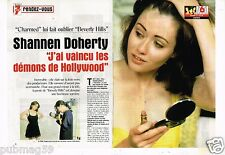 Coupure de Presse Clipping 1999 (4 pages) Shannen Doherty