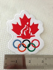 Team Canada Olympic 2010 NHL Hockey patch (Easy Sew On/ Iron On)