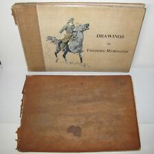 1897 Drawings by Frederic Remington SIGNED Limited First Edition 4 of 250